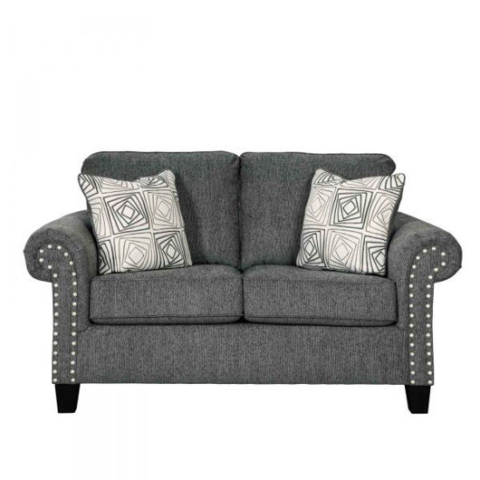 Picture of Agleno Charcoal Loveseat