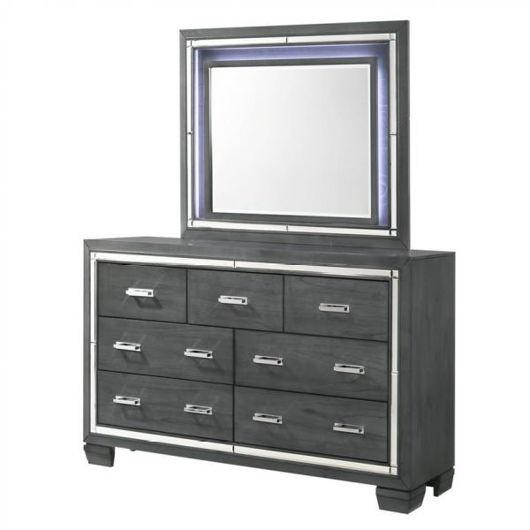 Picture of Titanium Dresser & Mirror