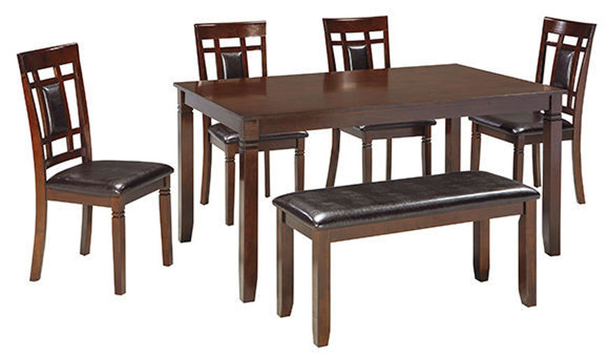 Picture of Bennox 6 Pc Dining Table Set