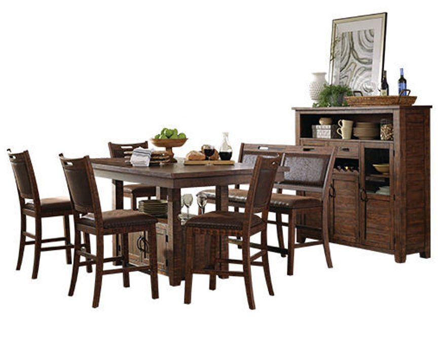 Picture of Aldo 5 Pc  Dining Set Brown
