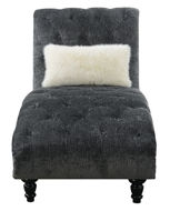 Picture of Bliss Charcoal Chaise